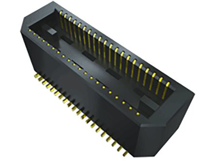 Samtec , BTE, 80 Way, 2 Row, Vertical PCB Header (60)