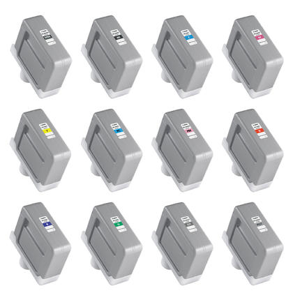 Canon PFI-306 Original Ink Cartridge Combo MBK/BK/C/M/Y/PC/PM/R/G/B/GY/PGY