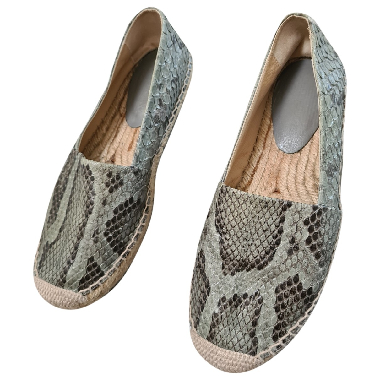 Dolce & Gabbana \N Grey Python Espadrilles for Women 36.5 EU