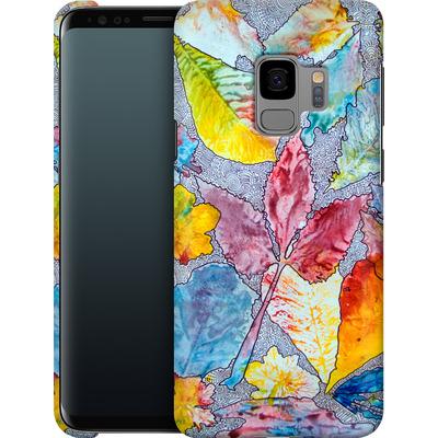 Samsung Galaxy S9 Smartphone Huelle - Spring Drawing Meditation von Kaitlyn Parker