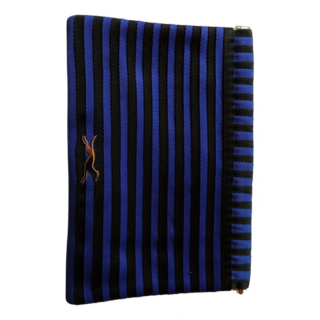 Bimba Y Lola \N Portemonnaie in  Blau Baumwolle