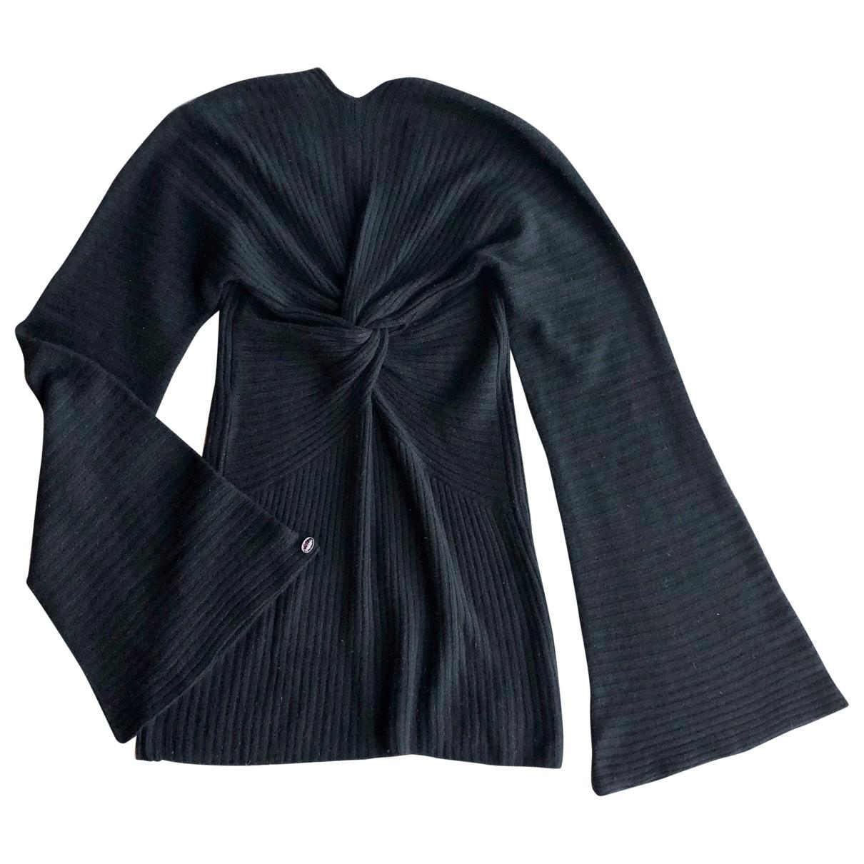 Chanel - Pull   pour femme en cachemire - noir