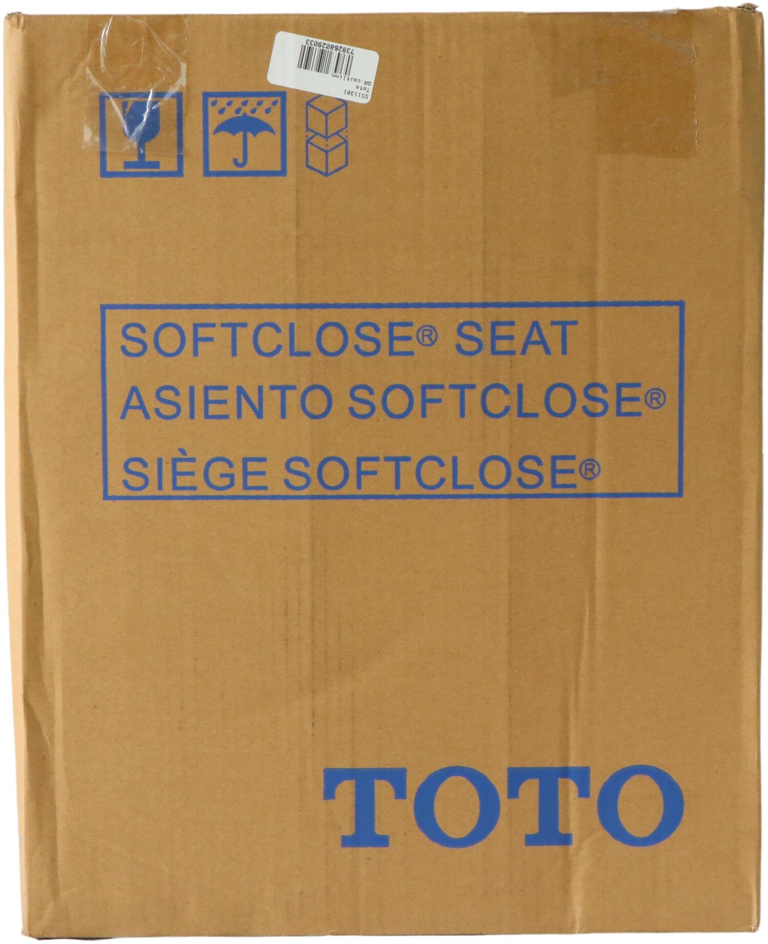 Toto Round Softclose Toilet Seat SS11301