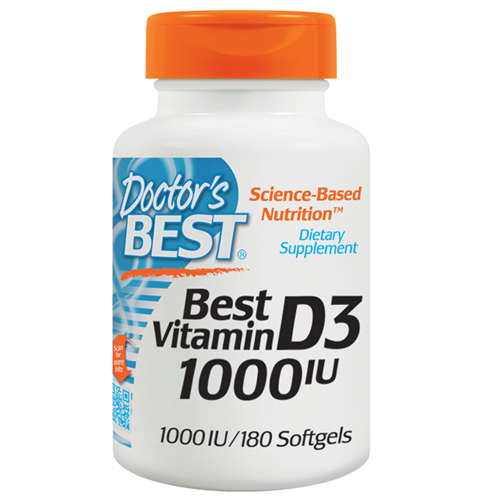 Vitamin D3 180 Softgels by Doctors Best