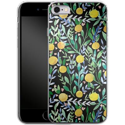 Apple iPhone 6 Silikon Handyhuelle - Bright Blossoms von Iisa Monttinen