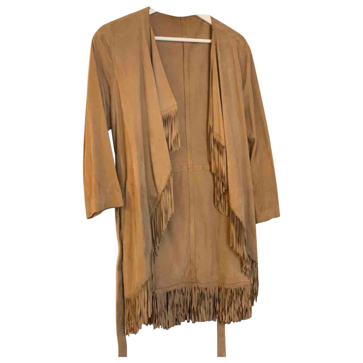 Uterque \N Camel Suede jacket for Women M International