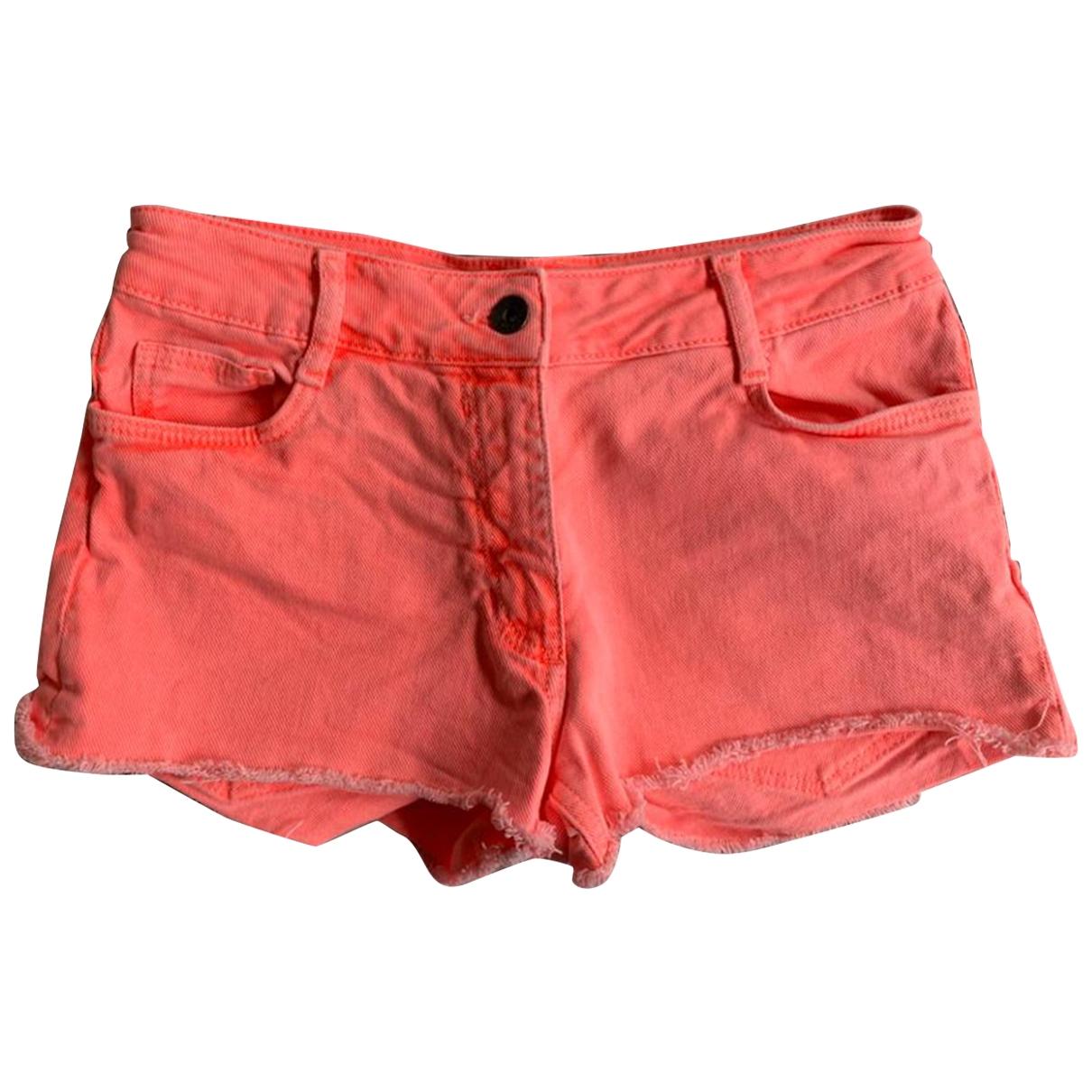 Sandro \N Shorts in  Orange Baumwolle