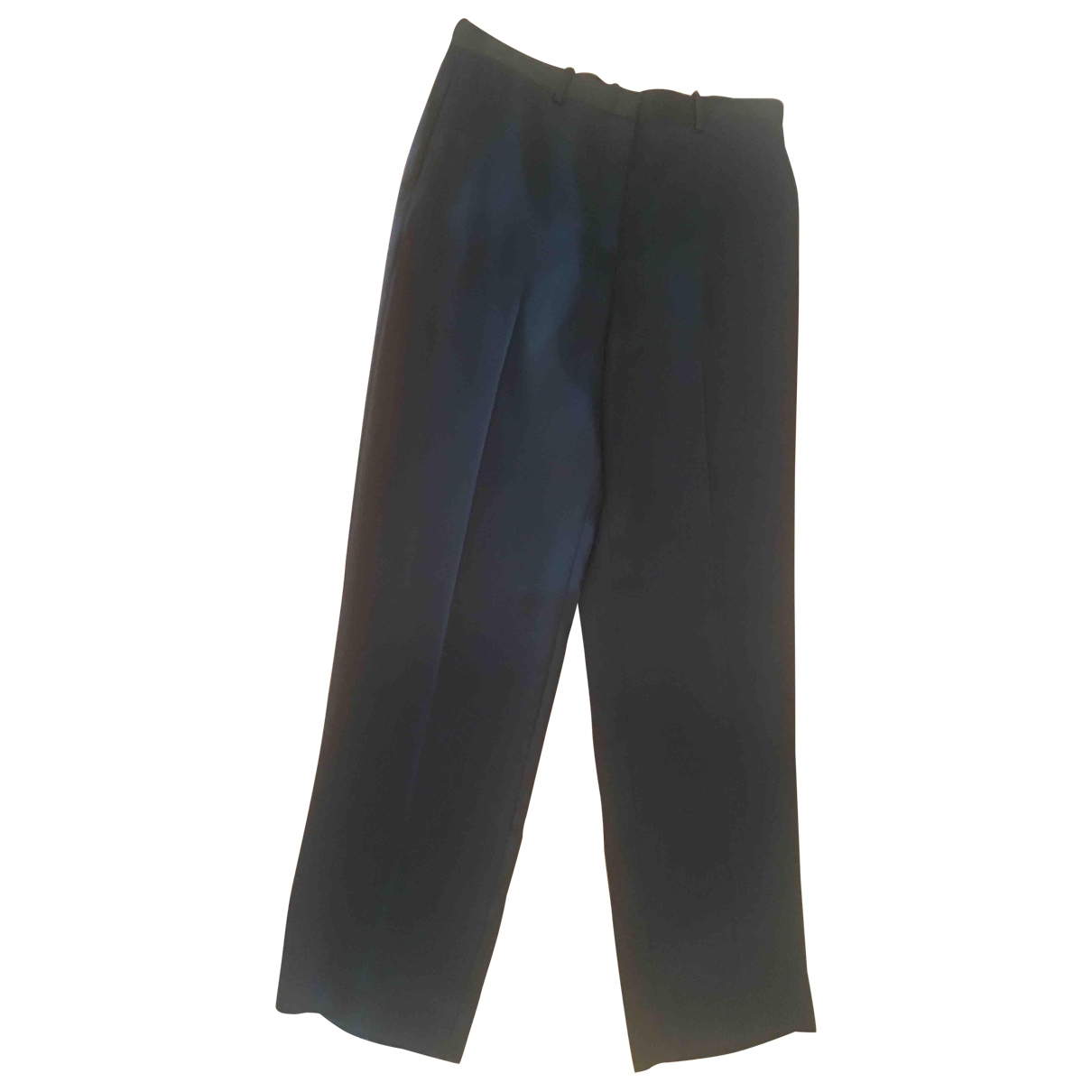 The Row \N Navy Trousers for Women 4 US