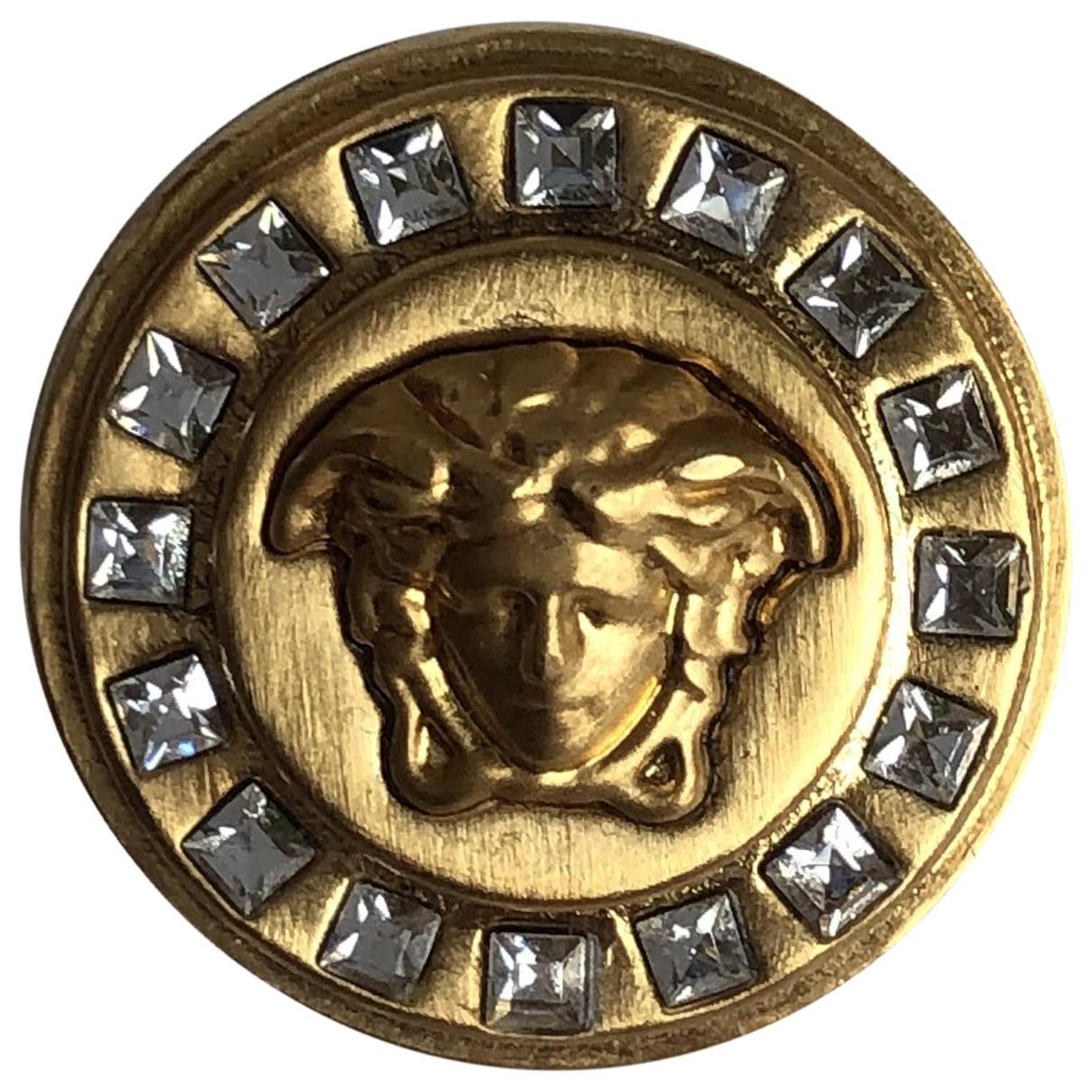 Versace - Bague Medusa pour femme en metal - dore