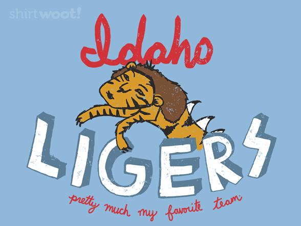 Idaho Ligers T Shirt