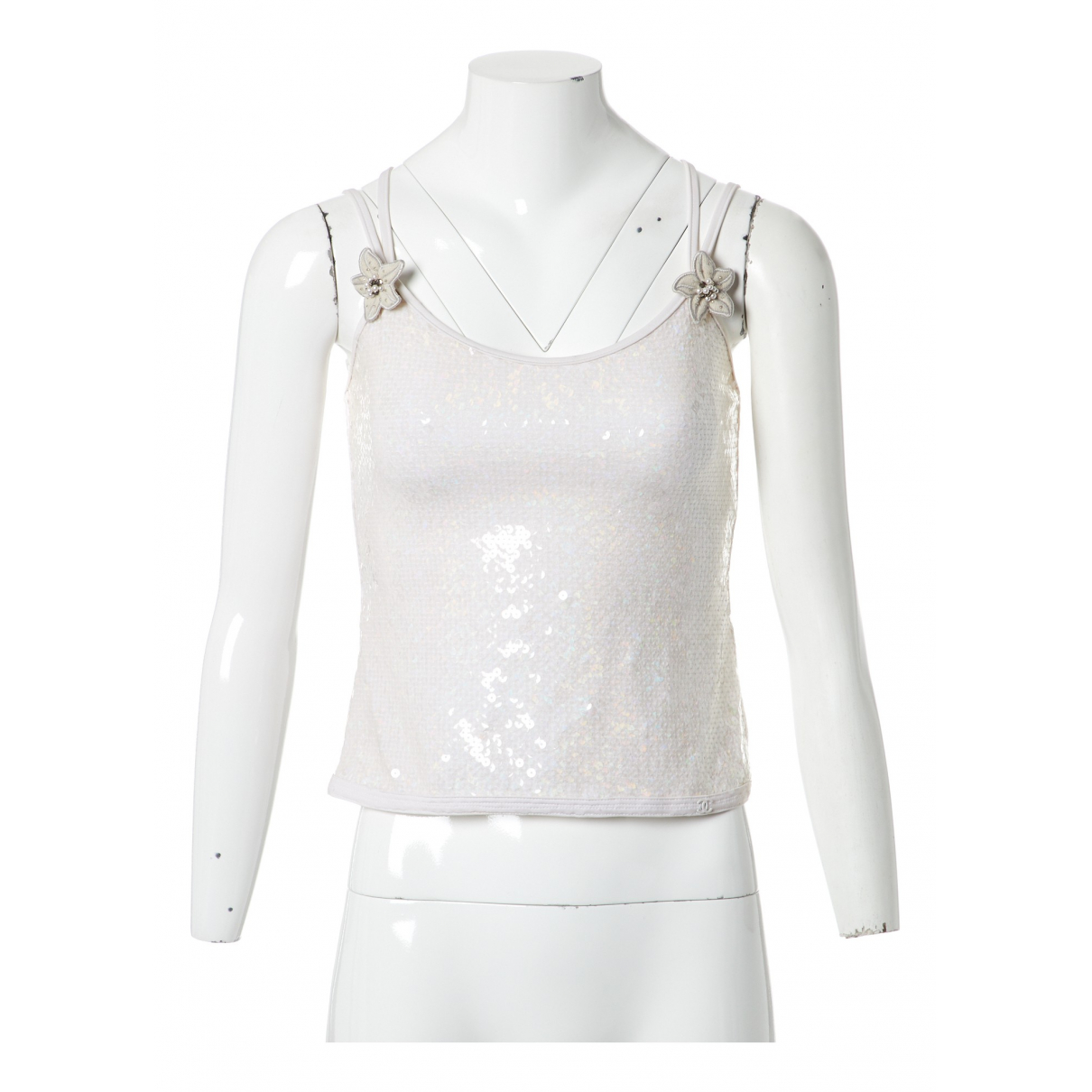 Chanel N White  top for Women 38 FR