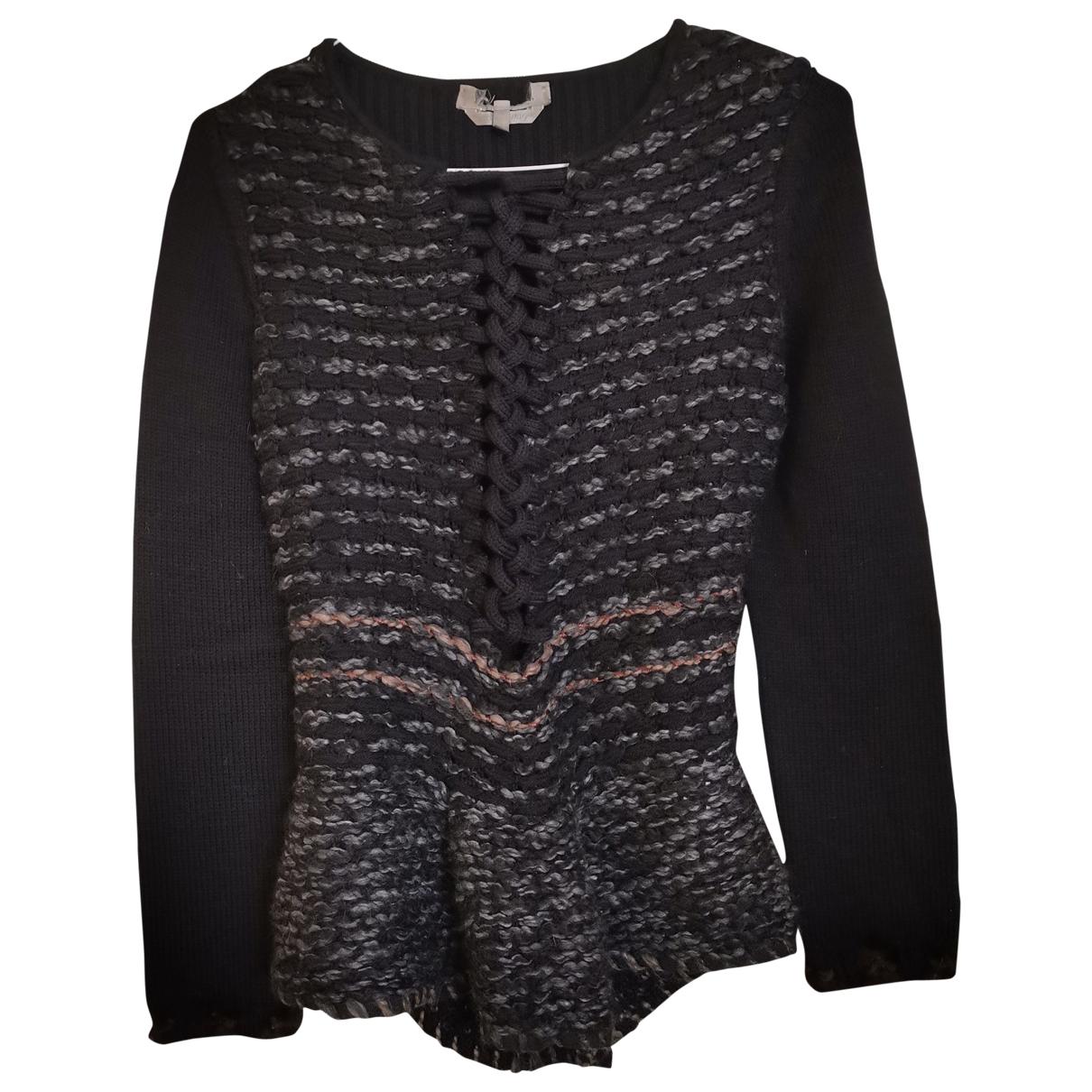 Sport Max - Pull   pour femme en laine - anthracite