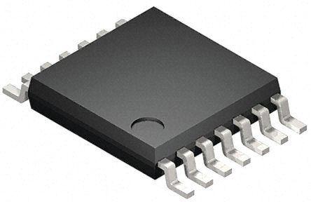 Toshiba 74VHC125FT, Quad, Quad Bus Buffer, 14.5 ns @ 50 pF 8mA, 14-Pin TSSOP (50)