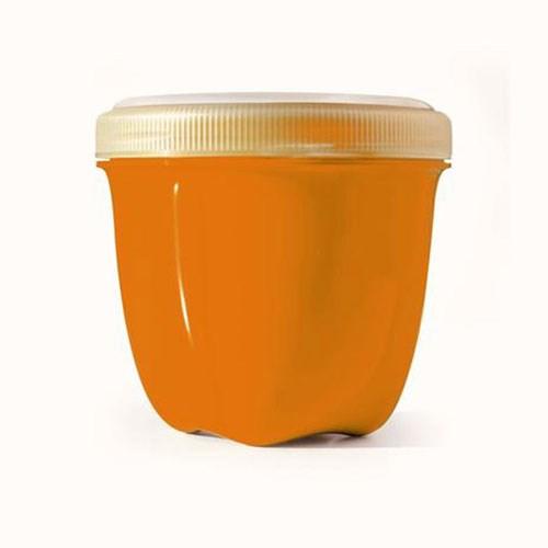 Food Storage Container Mini Orange 8 Oz by Preserve