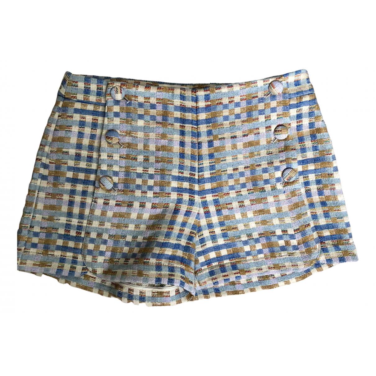 Sezane - Short Spring Summer 2020 pour femme en coton - multicolore