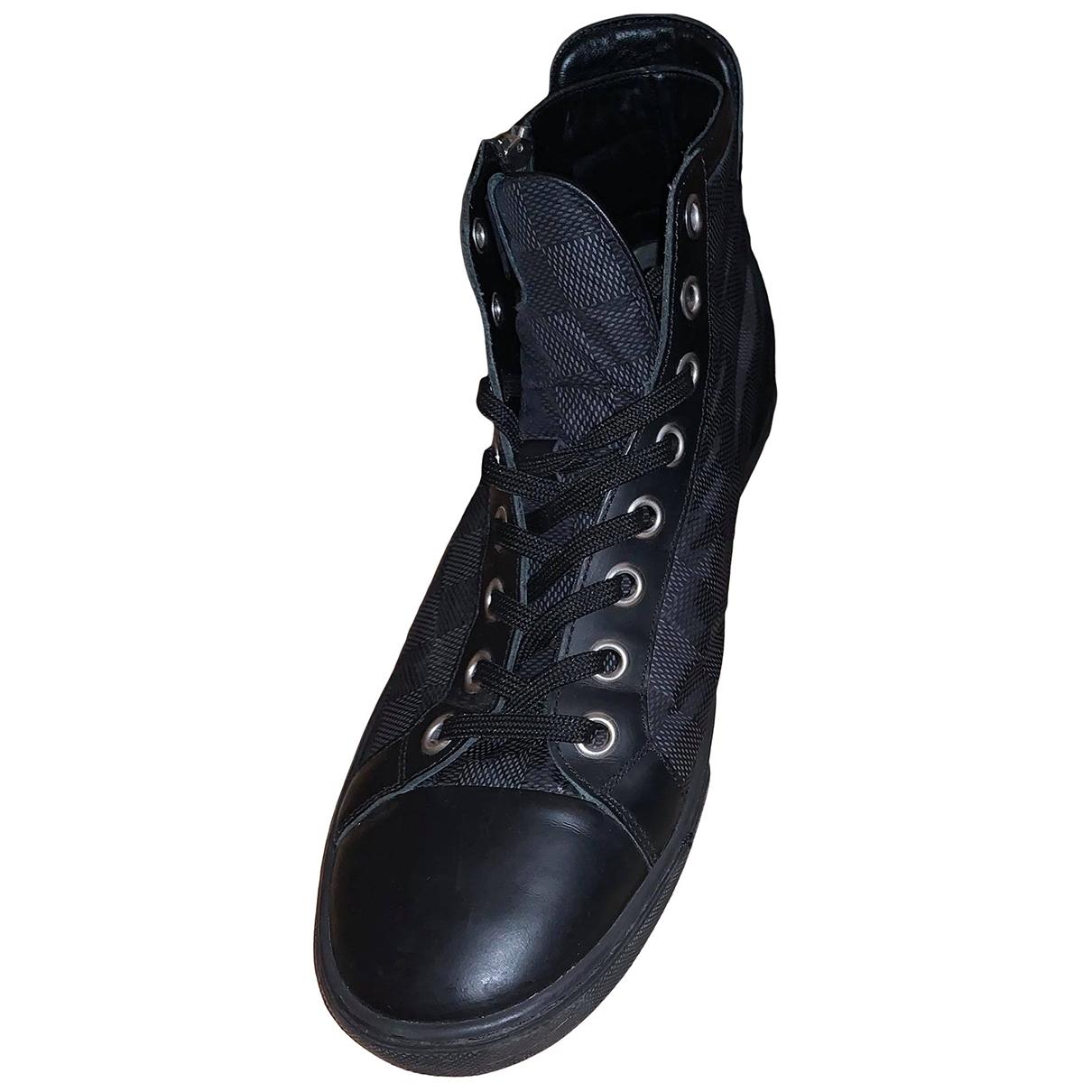 Louis Vuitton \N Black Leather Boots for Men 41 EU