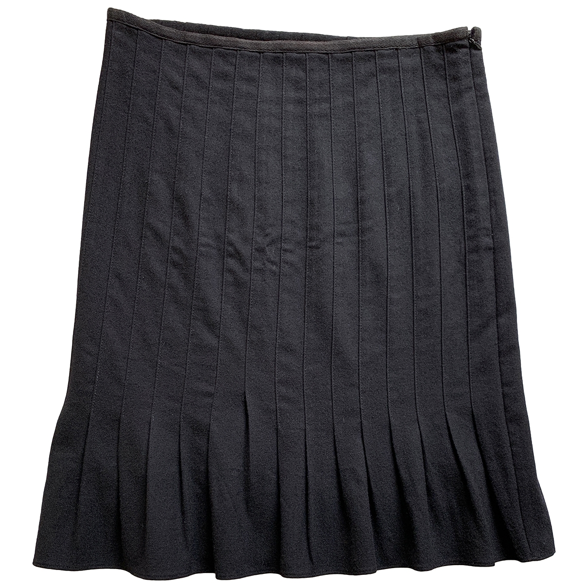 Catherine Malandrino \N Black Wool skirt for Women 8 US