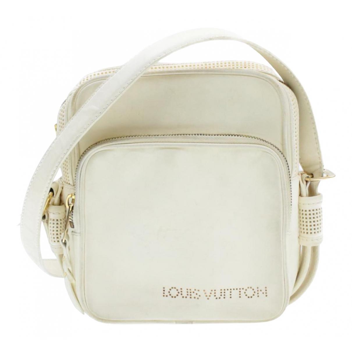 Louis Vuitton N White Leather handbag for Women N