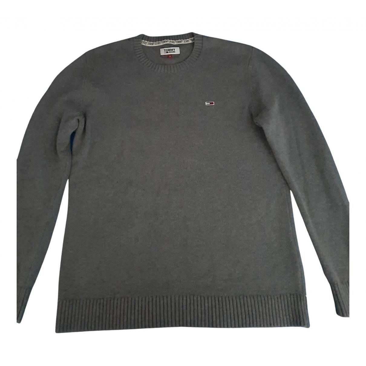 Tommy Hilfiger N Grey Cotton Knitwear & Sweatshirts for Men S International