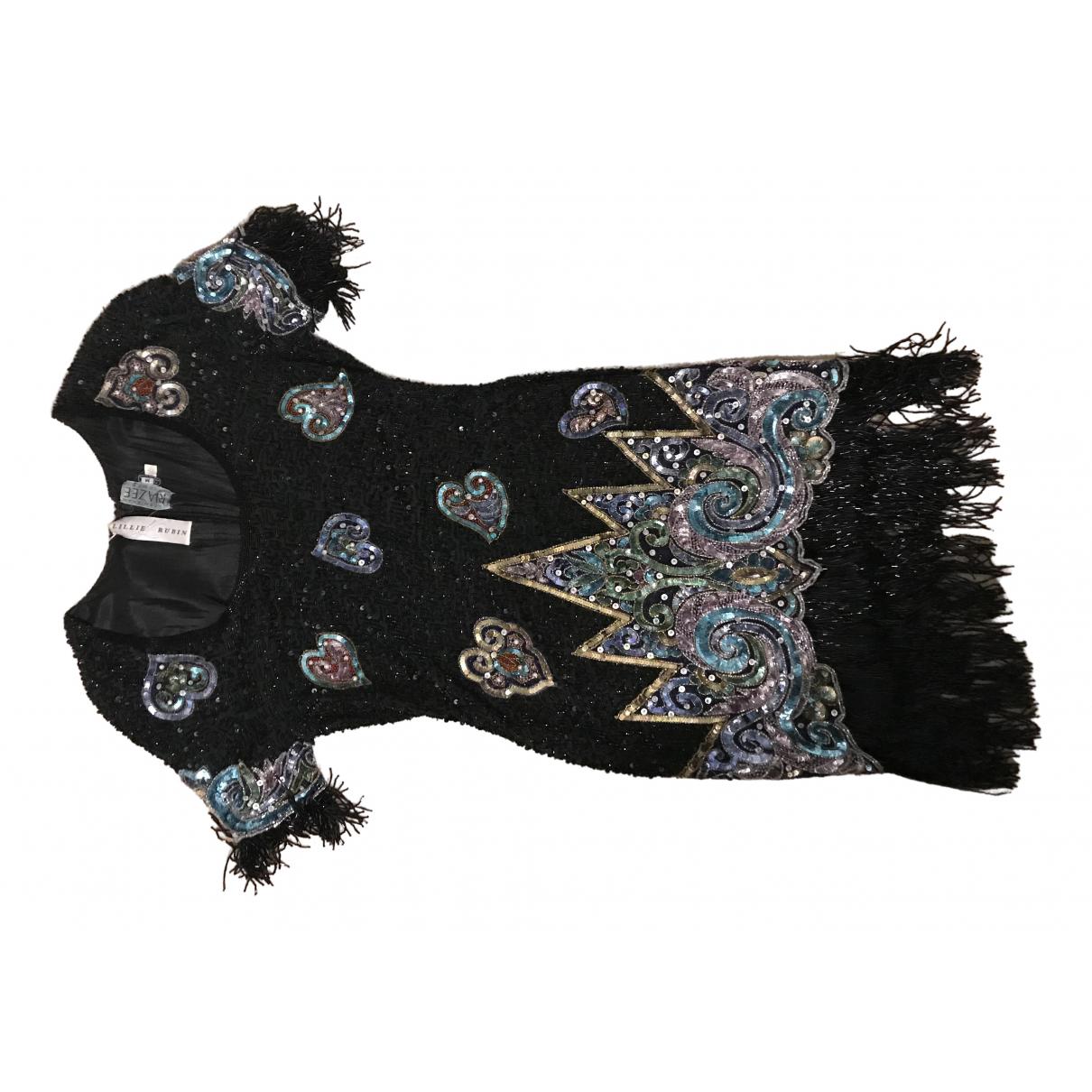 Lillie Rubin - Robe   pour femme en a paillettes - noir