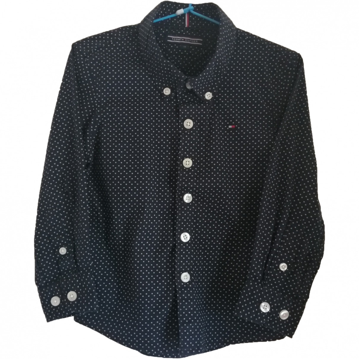 Tommy Hilfiger \N Blue Cotton  top for Kids 3 years - until 39 inches UK