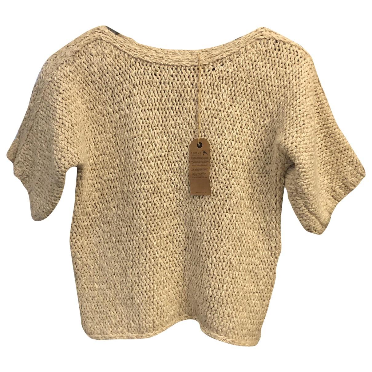Soeur - Pull   pour femme en coton - ecru