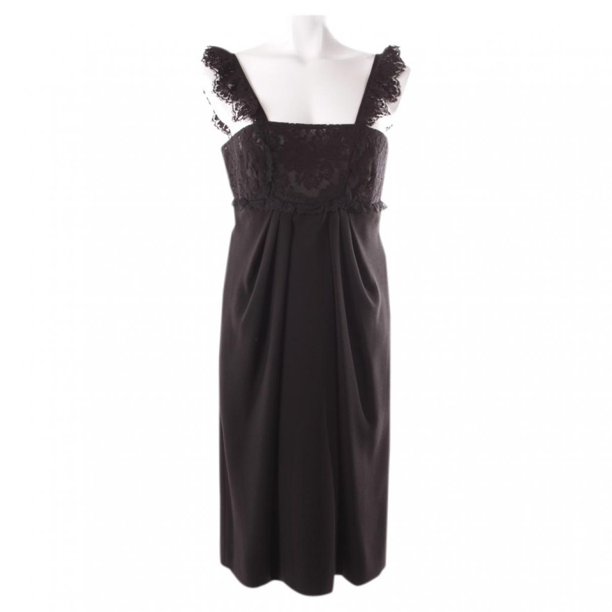 Valentino Garavani \N Black dress for Women 40 FR