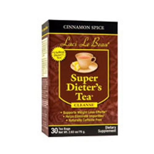 Laci Le Beau Super Dieters Tea Cinnamon Spice 30 Bags by Laci Le Beau