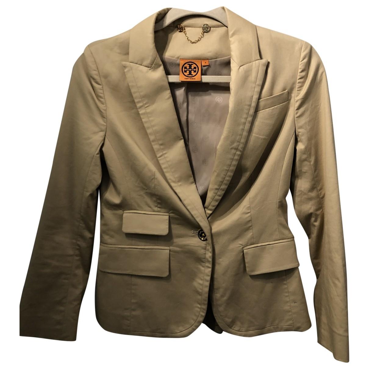 Tory Burch \N Beige Cotton jacket for Women 1 US