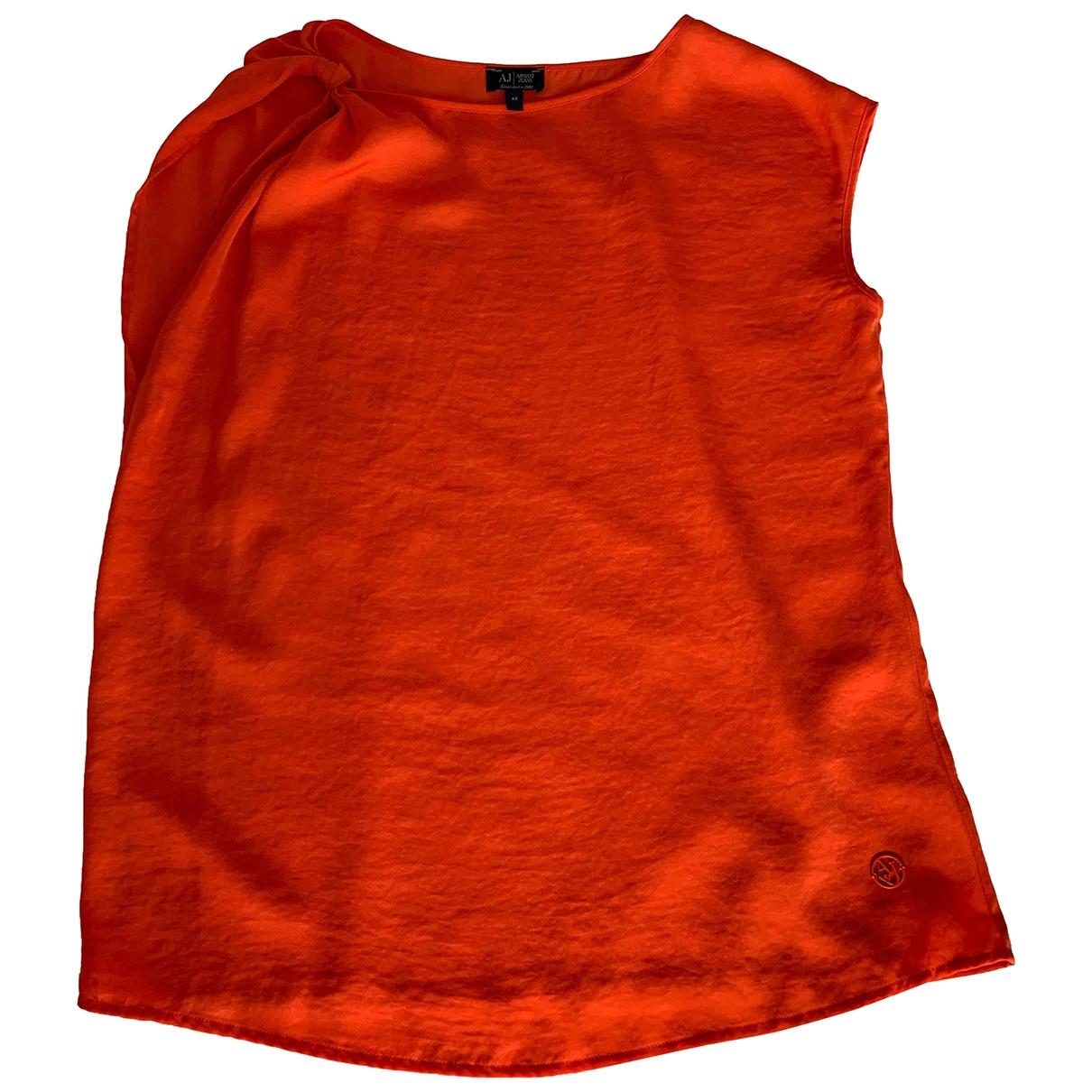 Armani Jean - Top   pour femme - orange