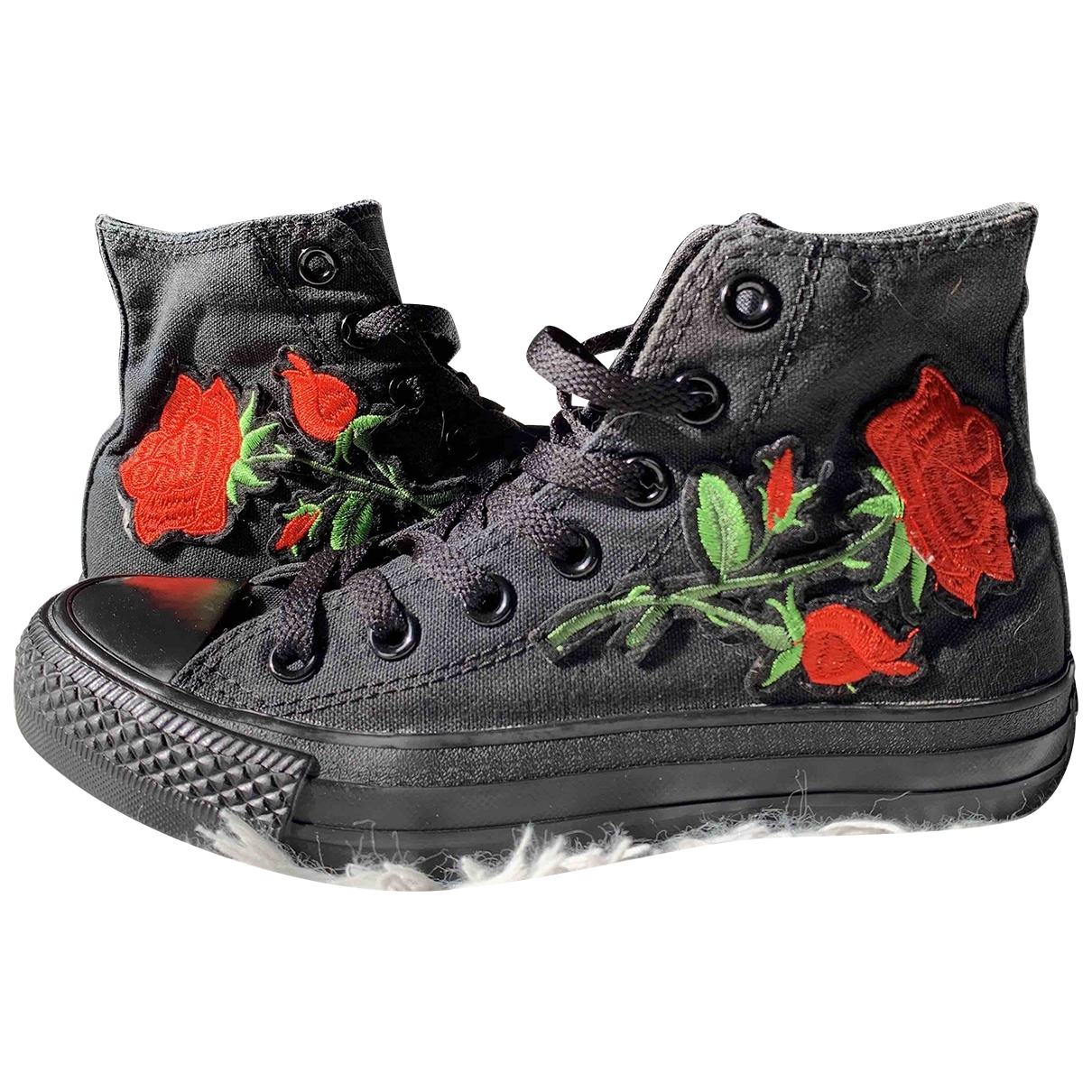 Converse \N Black Cloth Trainers for Women 36 EU
