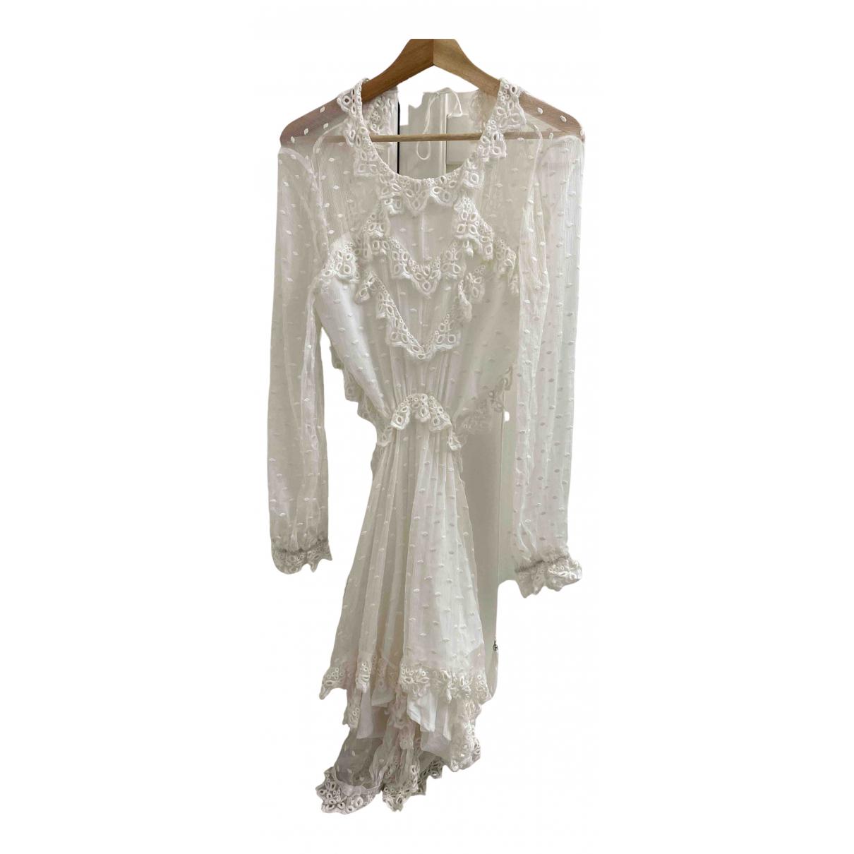 Zimmermann - Combinaison   pour femme en soie - blanc