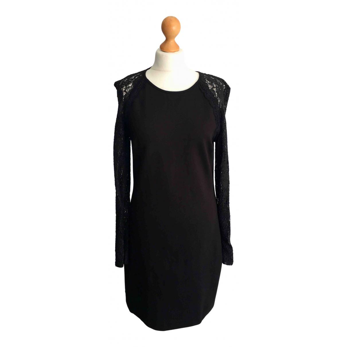 Juicy Couture \N Kleid in  Schwarz Viskose