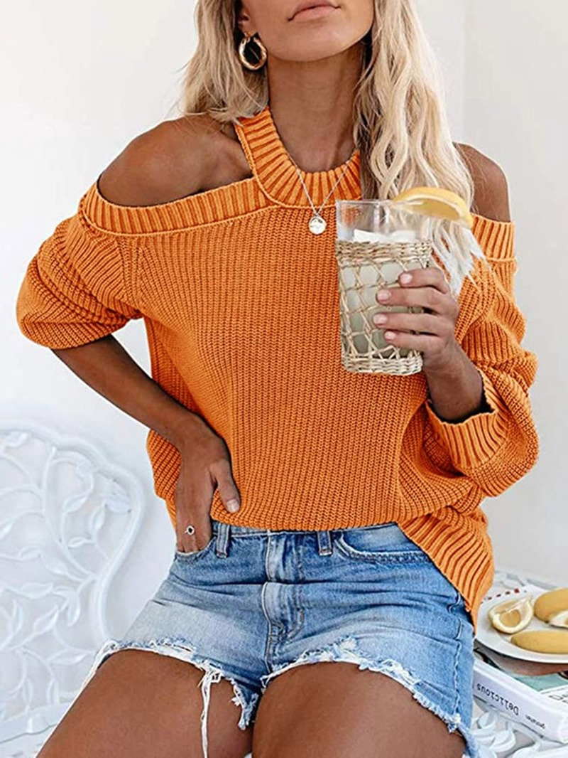 Ericdress Thin Backless Standard Fall Sweater