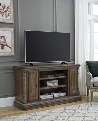 Charmond Collection W80348 LG TV Stand w/Fireplace Option in