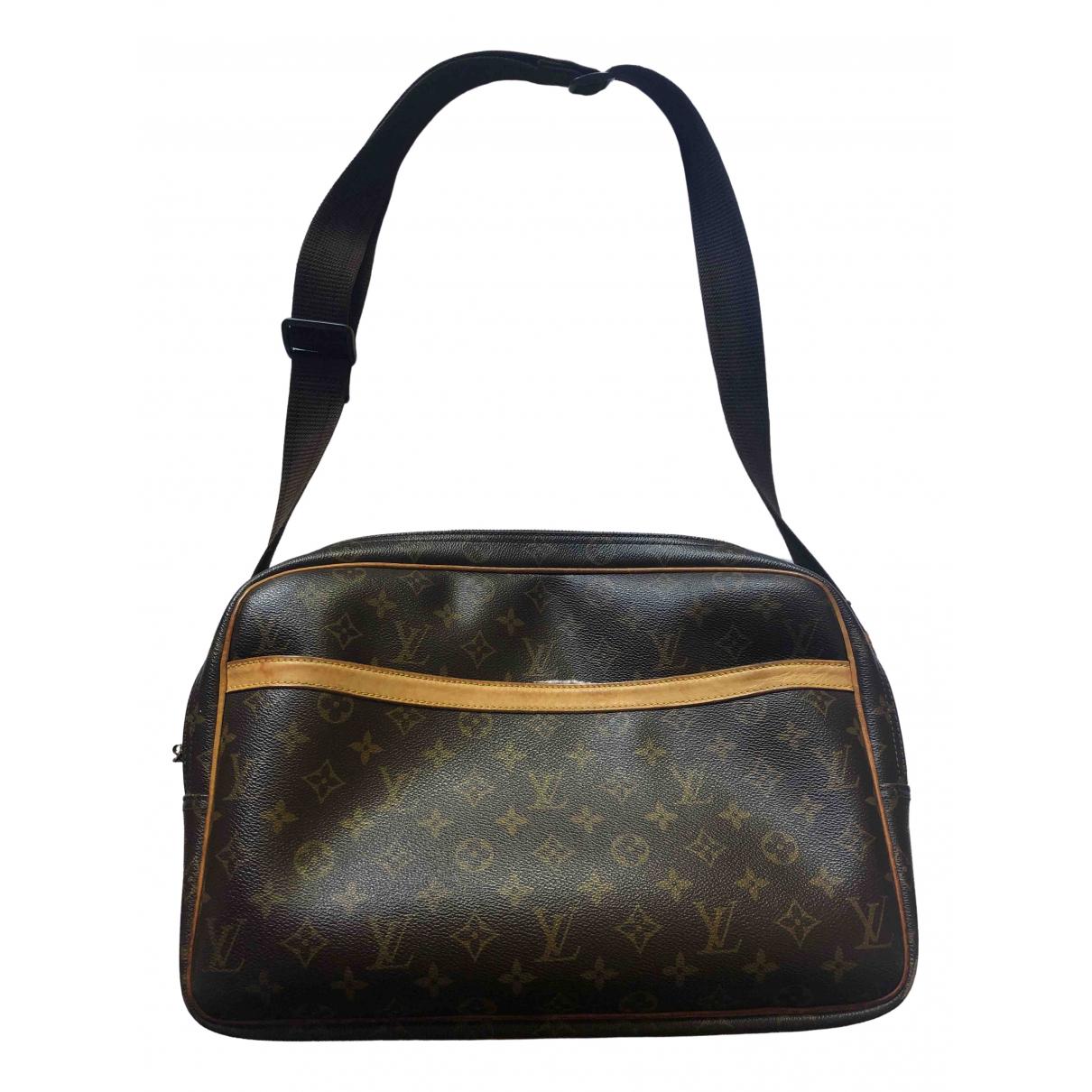 Louis Vuitton Reporter Brown Cloth bag for Men \N