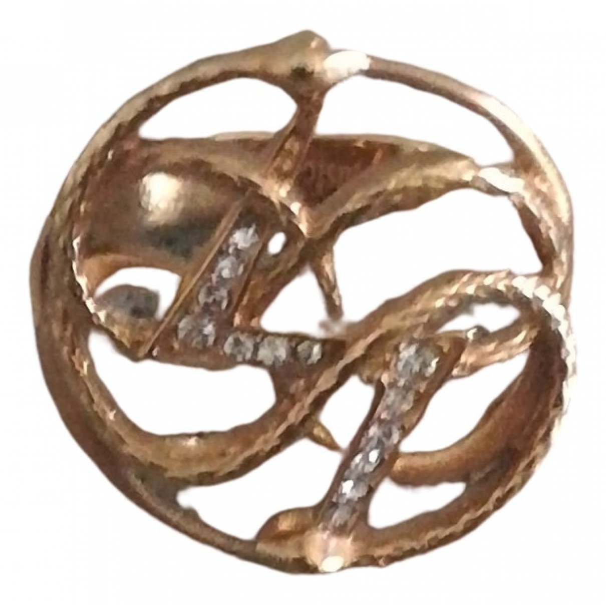 Just Cavalli \N Pink Metal ring for Women 61 EU
