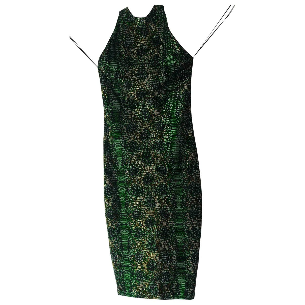 Balmain \N Kleid in  Bunt Mit Pailletten