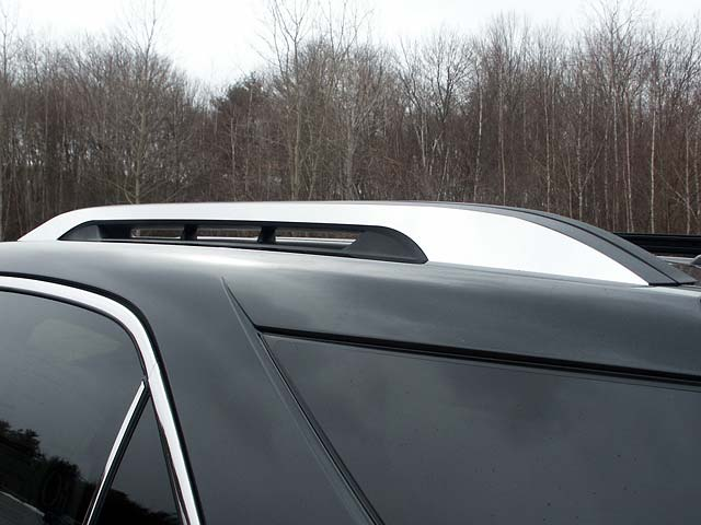 Quality Automotive Accessories 2 Piece Stainless Roof Rack Trim Chevrolet Equinox  10-17