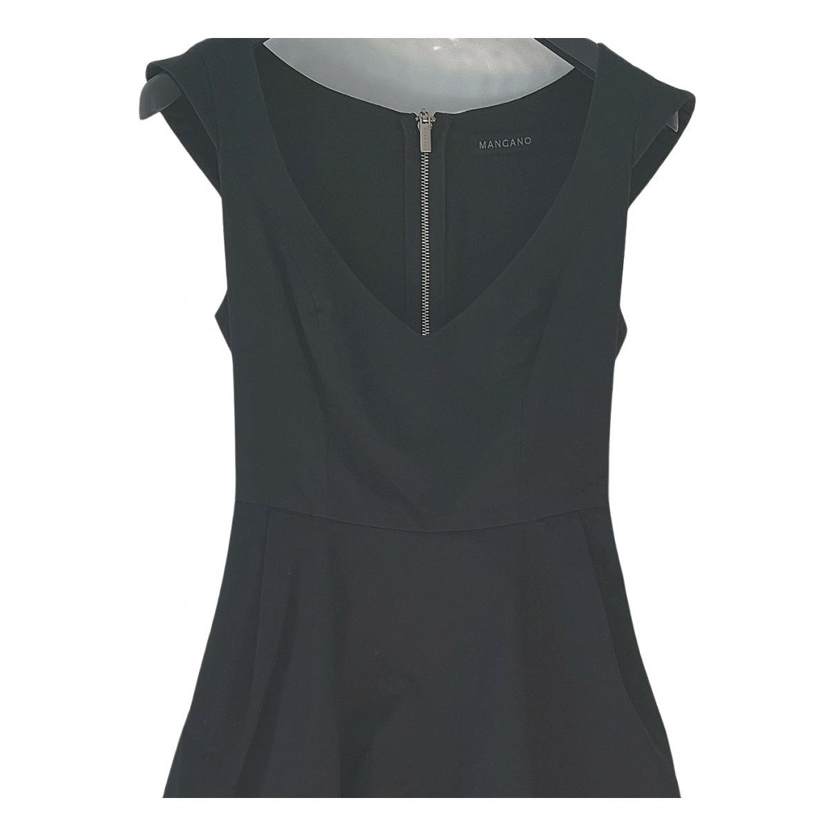 Mangano - Robe   pour femme en coton - elasthane - noir