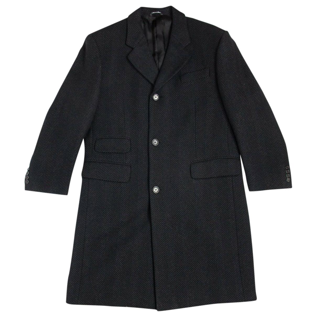 Autre Marque - Manteau   pour homme en laine - gris