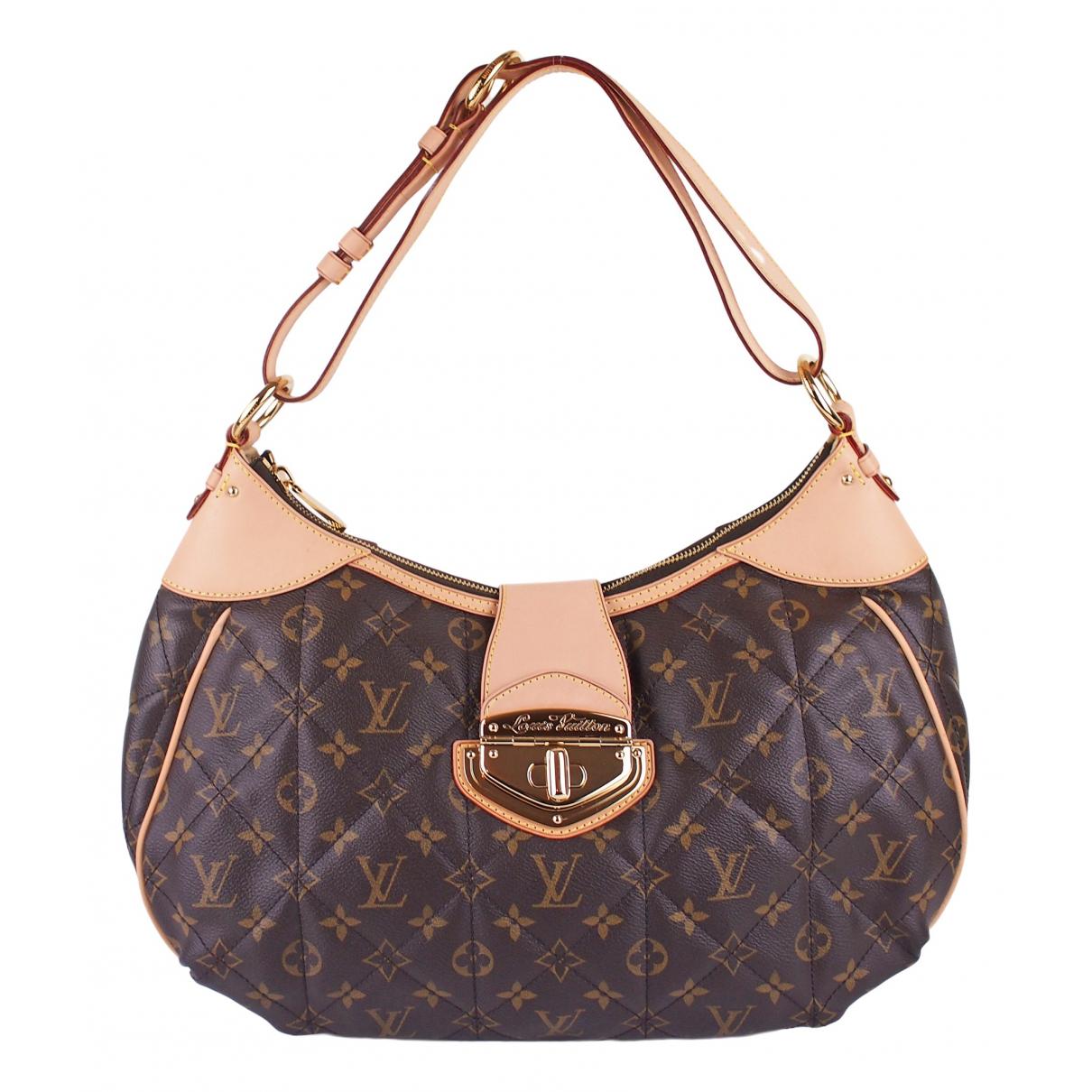 Louis Vuitton Etoile Handtasche in  Braun Leinen