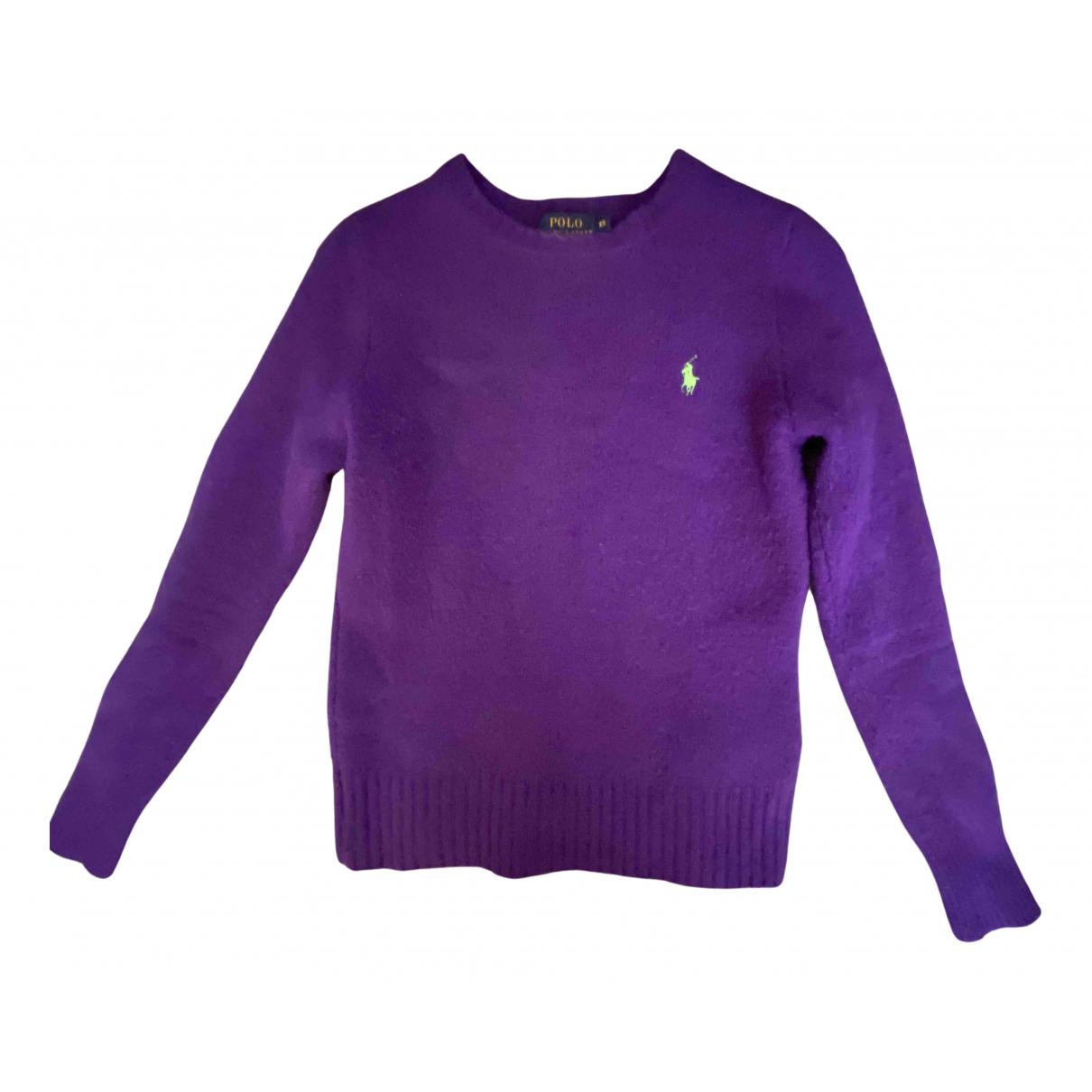 Polo Ralph Lauren N Purple Wool Knitwear for Women XS International