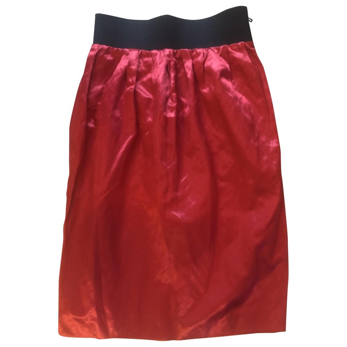 Lanvin \N Rocke in  Rot Baumwolle
