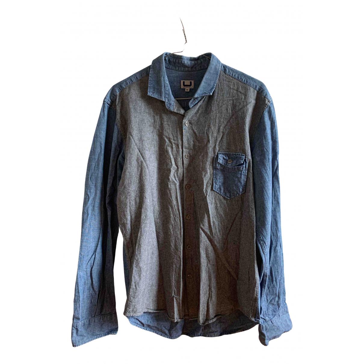 Adolfo Dominguez - Chemises   pour homme en denim - bleu