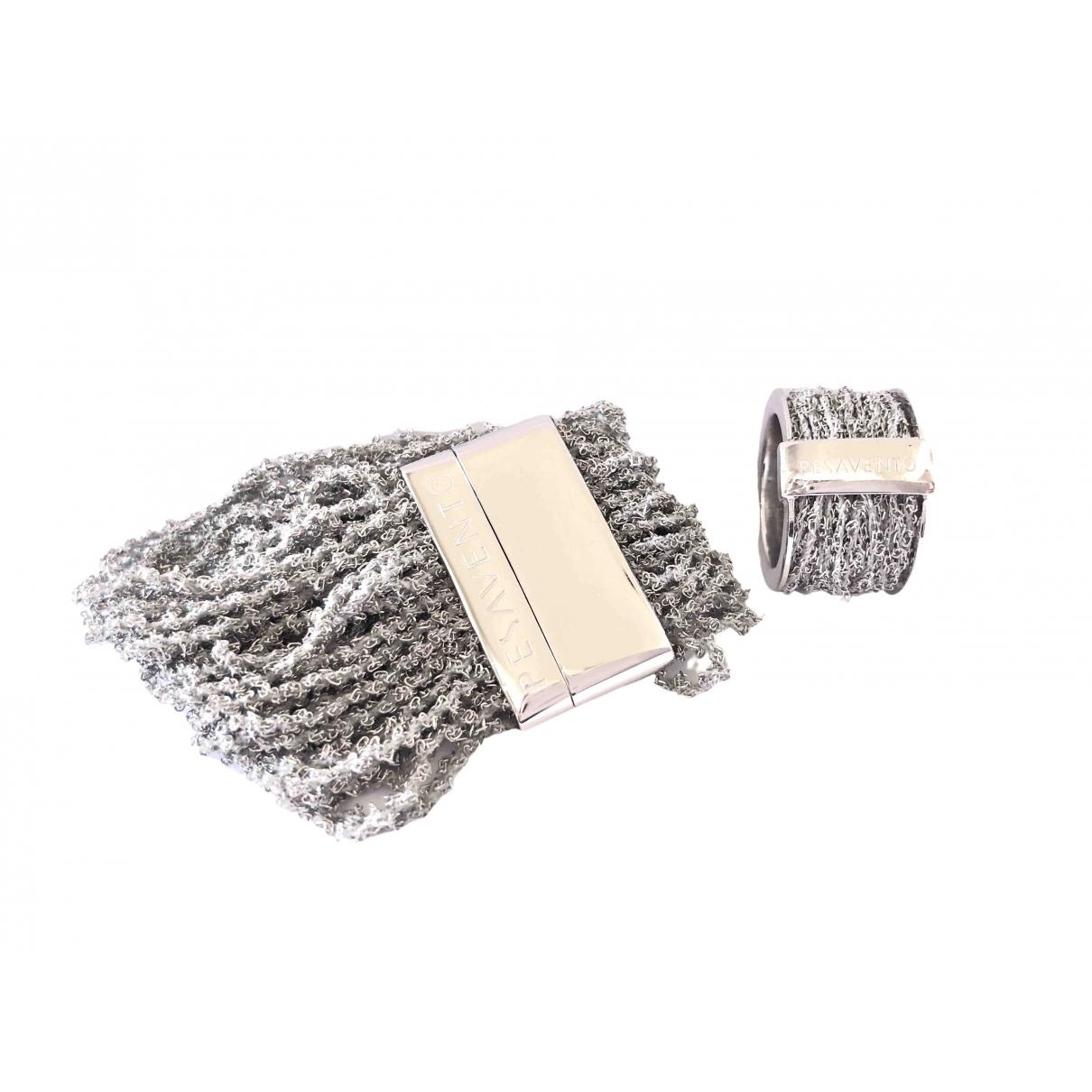 Pesavento - Parure   pour femme en argent - gris