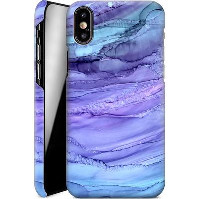 Apple iPhone XS Smartphone Huelle - Mermaid Marble von Becky Starsmore