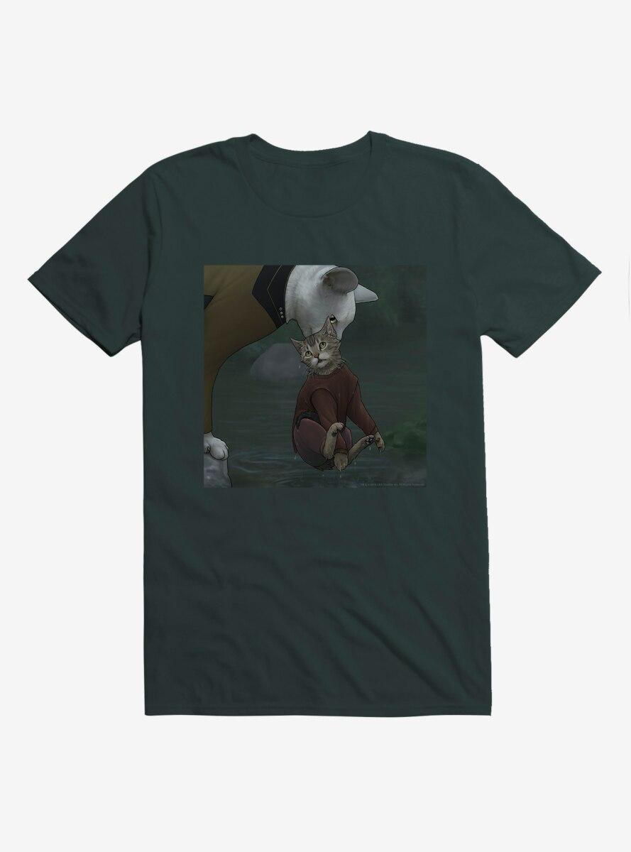 Star Trek The Next Generation Cats Data Rescue T-Shirt