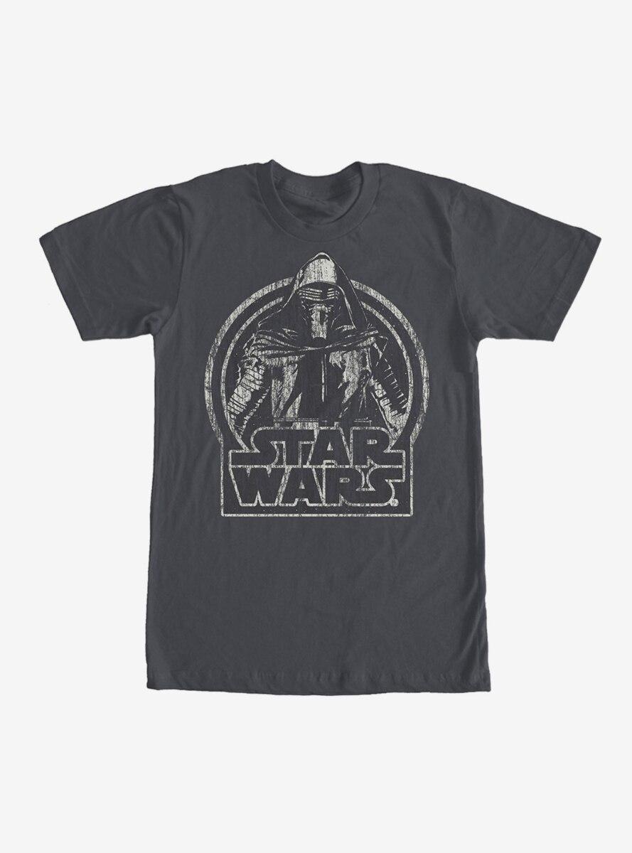 Star Wars Kylo Ren Classic Distressed T-Shirt