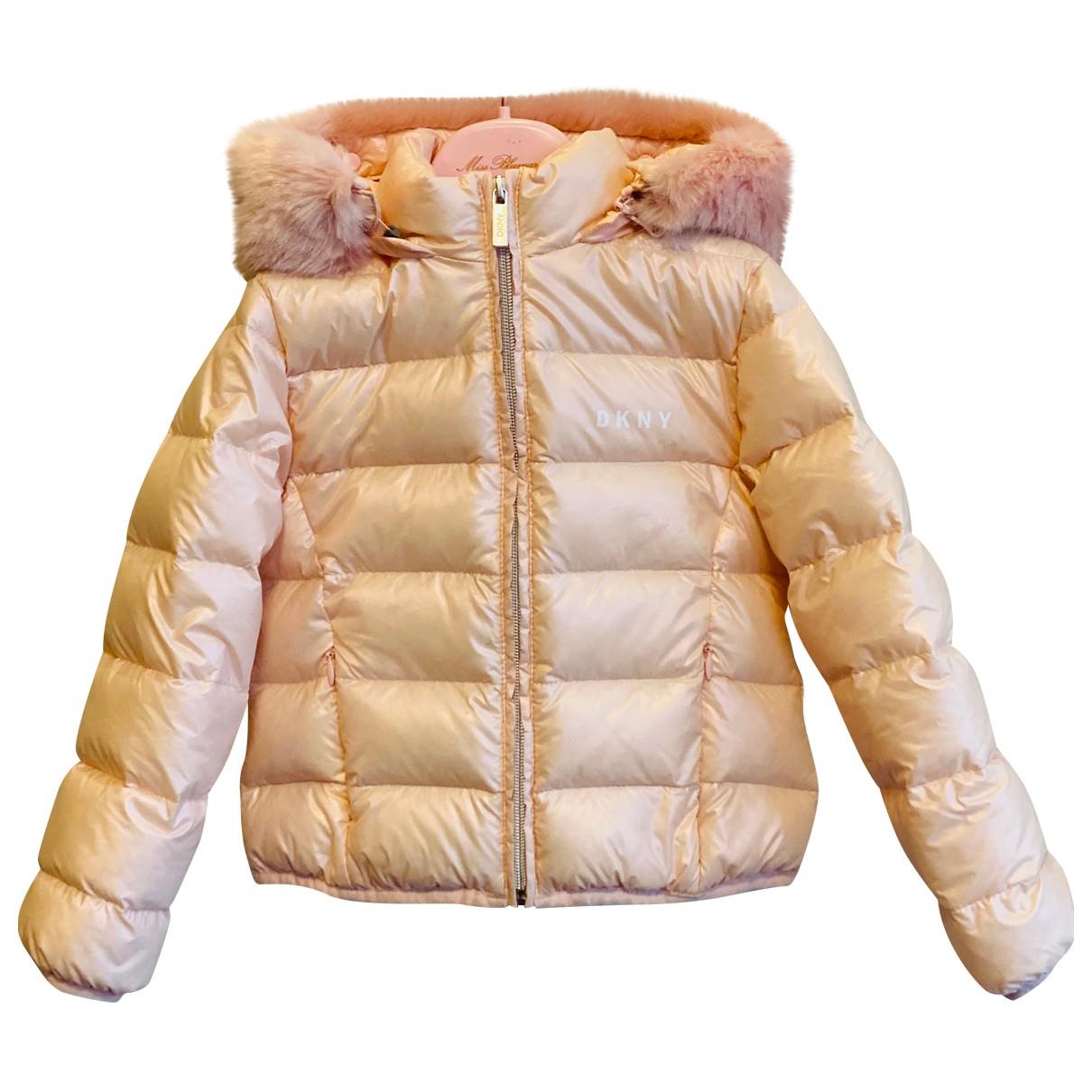 Dkny - Blousons.Manteaux   pour enfant - rose
